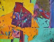 Catherine Noizet Faucon, peintre participe au 46e Salon des Arts de Montmagny