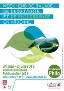 Extérieur philo : Balades, découvertes, philo en Ardennes