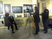QUELQUES IMAGES DU VERNISSAGE D'INCUB'ART A LIEGE CE VENDREDI 01/02/2013
