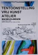 TENTOONSTELLING VRIJ KUNST ATELIER - EXPOSITION ATELIER D'ART LIBRE