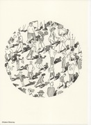 """Planètes"" dessins de Gabor Breznay"