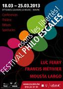"""Festival Philo ESCALES """"Osons les libertés !"""""""