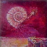 """Peintures """"MYTH MACHINES II"""" de Benjamin Gross"""