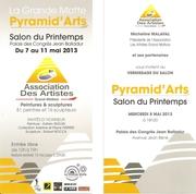 jacqueline Morandini au Salon Pyramid'Arts à La Grande Motte (34)