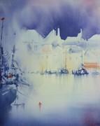 WASSY Haute Marne Stage d'aquarelle par Claude Carretta