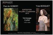 Exposition 'Paul de Gobert & Yves Bosquet'