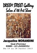Jacqueline Morandini à la Dreem Street Gallery (Le Lavandou (83))