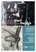 Samira Darif et Dominique Declerck exposent