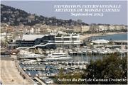 Jacqueline Morandini au Salon 2013 des Artistes du Monde à Cannes (06)