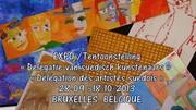 Invitation au vernissage  de L'Exposition  « Délégation des artistes suédois »