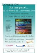 Exposition d'art du pastel à Nivelles