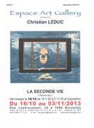 Exposition du  Peintre Belge CHRISTIAN LEDUC