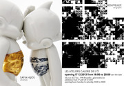 Ceramics exhibition by Safia Hijos, ...Asto Boy ironique ou lyrique