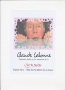 exposition Claude CALONNE