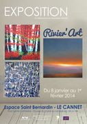 Jacqueline Morandini à RIVIER'ART