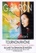 exposition peinture G.BARON
