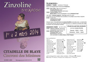 ZINZOLINE S'EXPOSE