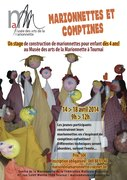 "Stage ""Marionnettes et comptines"""