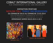EXPO NATALINA TOLU GALERIE COBALT BRUXELLES