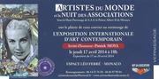 Jacqueline Morandini à l'Exposition Internationale d'Art Contemporain à MONACO