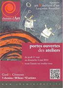 Jacqueline Morandini Portes ouvertes des ateliers d'artistes Chemins d'Arts