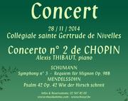 Concert 20 ans Mékong Plus Chopin-Schumann-Mendelssohn