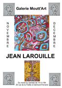 Jean Larouille à la galerie Moutt'Art
