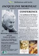 CONFERENCE J. MORINEAU NOVEMBRE