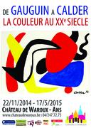 """Exposition """"La Couleur, de Gauguin à Calder"""""""