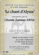 La chorale Zamâan-Awsa interprète 'Le chant d'Alyssa'