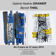 exposition THIEL benoit Galerie NADINE GRANIER