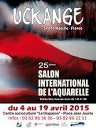 25e Salon international de l'aquarelle de Uckange