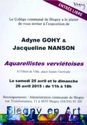 Jacqueline Nanson et Adyne Gohy