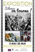 "jacqueline Morandini ""Silence on tourne"" Le Cannet (06)"