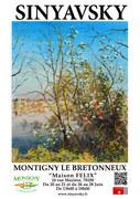 Exposition SINYAVSKY à Montigny(78) France