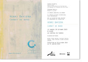 HENRI BAVIERA  au Centre International d'Art Contemporain de Carros