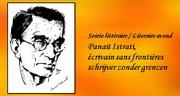 Soirée littéraire: Panait Istrati, écrivain sans frontières