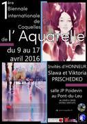 1ère Biennale internationale d'aquarelle de Coquelles