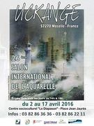 25ème salon international de l'aquarelle d'Uckange