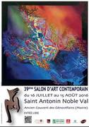 39ème SALON D'ART CONTEMPORAIN à SAINT ANTONIN NOBLE VAL (82140)