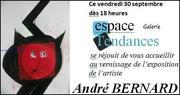 André Bernard expose .
