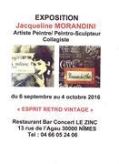 """Jacqueline Morandini au """"ZINC"""" à NÎMES (30)"""