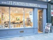 Aniko à l'Atelier des Peintres du Marais