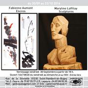 Exposition de Maryline Laffilay et Fabienne Aumont