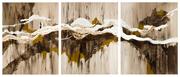 Peintures de Daniel Convenant à la Galerie Têt' de l'Art  à Forbach
