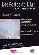 """Jacqueline Morandini au Salon """"Les Portes de l'Art"""" à Montferrier sur Lez (34)"""
