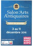 Jacqueline Morandini au Salon des Arts et des Antiquaires à Nîmes (30)