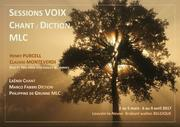 Stage développement de la voix CHANT  DICTION  MLC