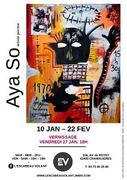 Exposition Aya So - artiste peintre