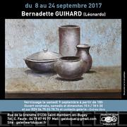 Exposition de Bernadette Guihard (Léonardo)